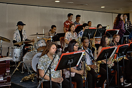 Oznard High School Jazz Band