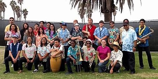 Oxnard High School Jazz Band